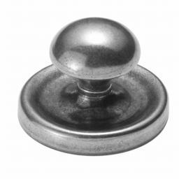 Finesse Mushroom Pewter Cabinet Knob