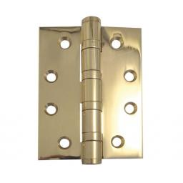 POLISHED BRASS BALL BEARING HINGES