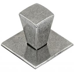 Taper Pewter Cabinet Knob (2 sizes)
