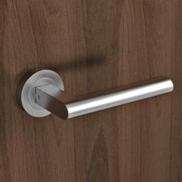 Karcher Madeira Lever On Round Rose Satin