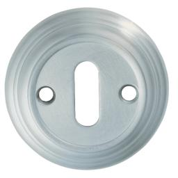 LARGE RIBBED ESCUTCHEON
