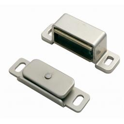 CHROME MAGNETIC CATCH