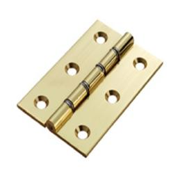 POLISHED BRASS WASHERED HINGE