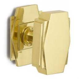 Art Deco Centre Door Knob