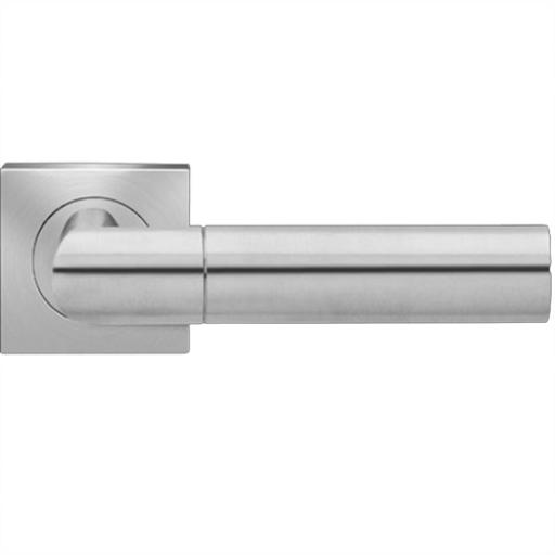 Karcher Oregon Satin Stainless Lever On Square Rose