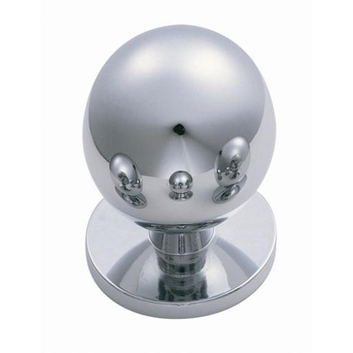 Chrome Ball Cupboard Knob