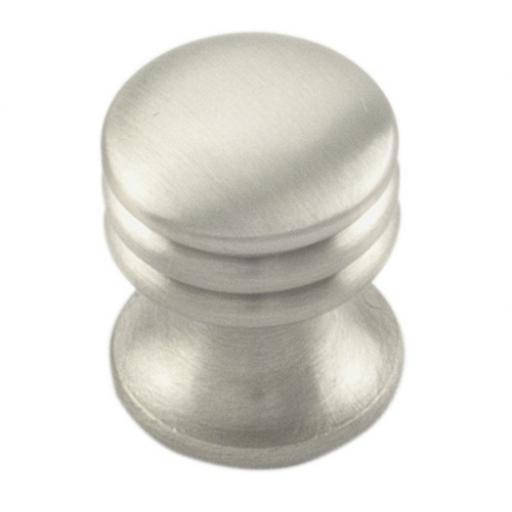 chrome cupboard knob ringed