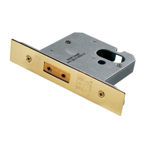 ARCHITECTURAL QUALITY OVAL PROFILE DEADLOCK
