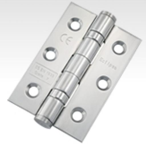 "3"" Stainless Steel Butt Hinges Ball Bearing"