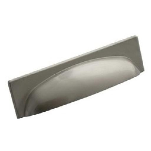 LONG CUP HANDLE SATIN NICKEL