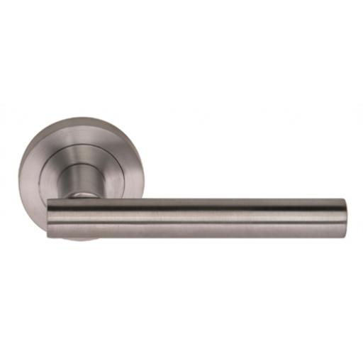 Brunswick Satin Chrome Lever Handle