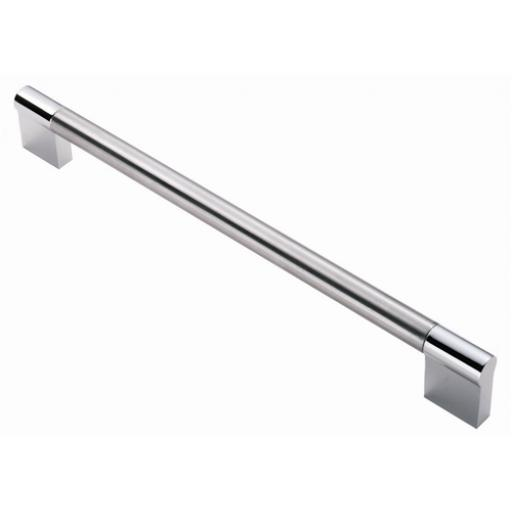 Keyhole Pull Handle Chrome Nickel Finish