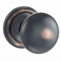 Mushroom Mortice Knob in Antique Copper.jpg