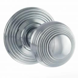 Round Reeded Knob Polished Chrome.jpg