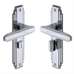 Heritage Brass Door Handle for Bathroom Astoria Design Polished Chrome finish.jpg