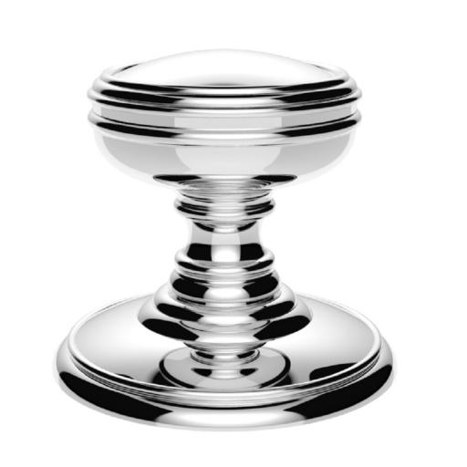 Delamain Plain Knob in Polished Chrome