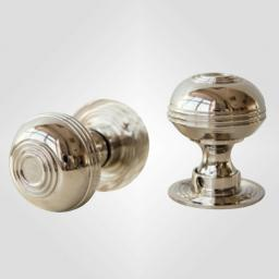 Small Bloxwich Knob in Polished Nickel