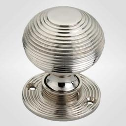 Beehive Knob in Polished Nickel