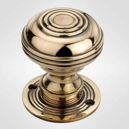 Large Bloxwich Knob in Antique Brass