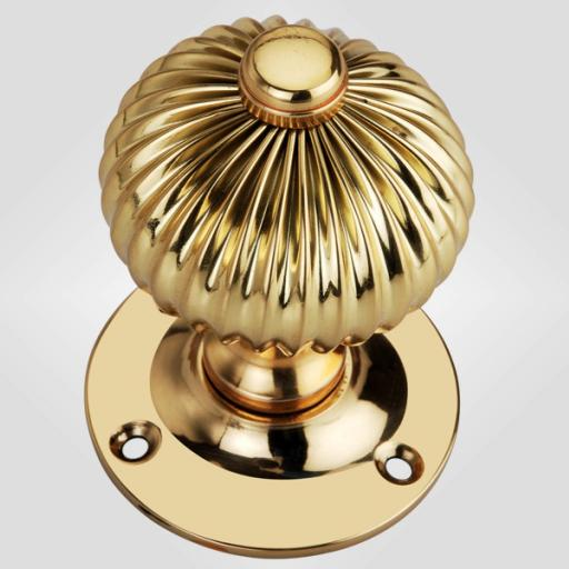 Regency Knob in Brass