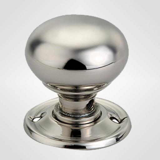 Small Cottage Knob in Polished Nickel