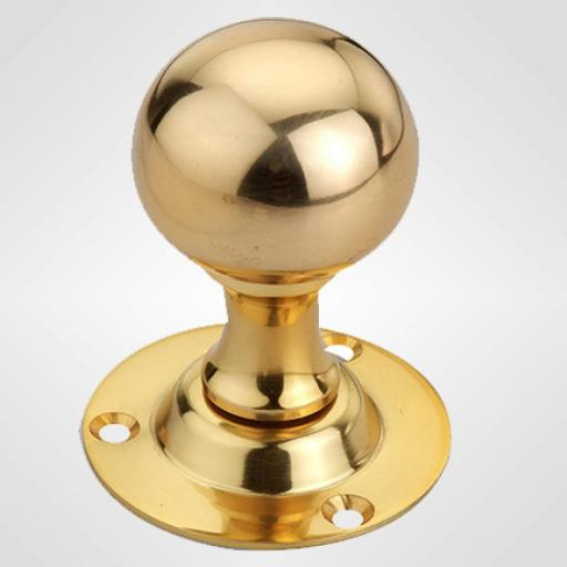 Ball Knob in Brass