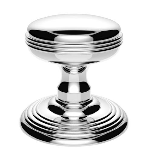 Delamain Ringed Knob in Polished Chrome