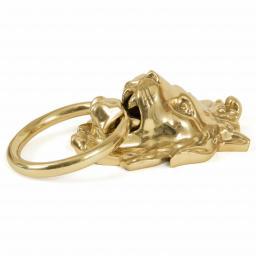 Lion's Head Door Knocker Polished Brass 2.jpg