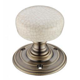 Porcelain Mortice Knob Ivory Crakle Florentine Bronze.jpg