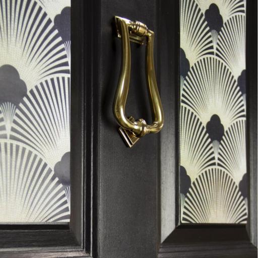 Aged Brass Art Deco Knocker 10.jpg