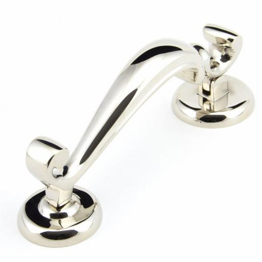 Polished Nickel Doctor's Door Knocker