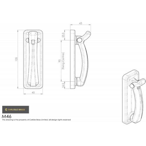 Door Knocker on Backplate Dimensions M46.png