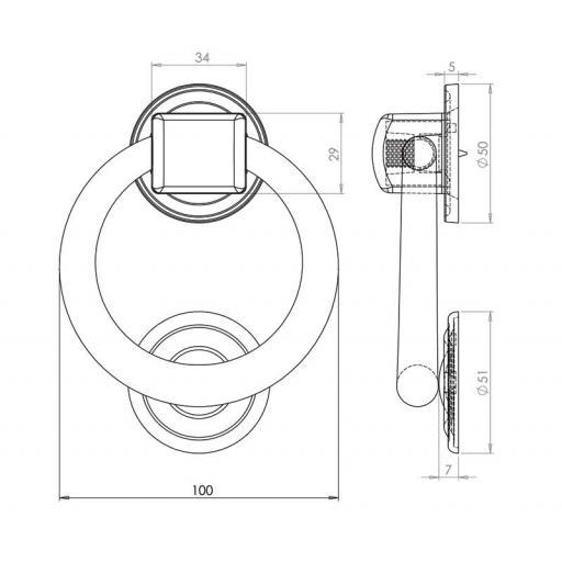 Ring Door Knocker Dimensions JV37.jpg