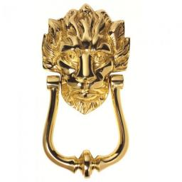 Lion Head No. 10 Door Knocker
