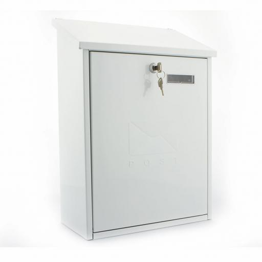 Grand Post Box White