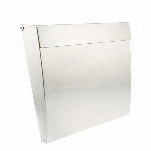 Calder Post Box Stainless Steel