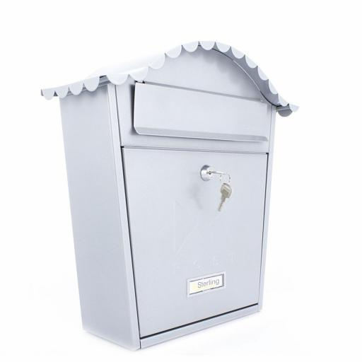 Classic Post Box Silver