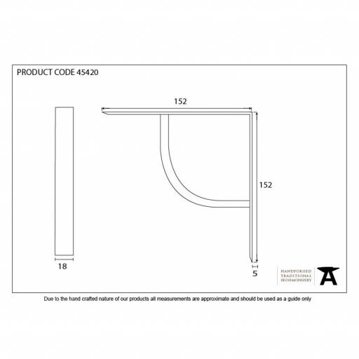 Natural Smooth Plain Shelf Bracket Dimensions.jpg