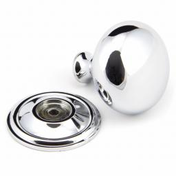 Polished Chrome Mushroom Cabinet Knob Large.jpg