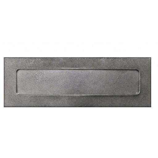 Genuine Pewter Letter Plate