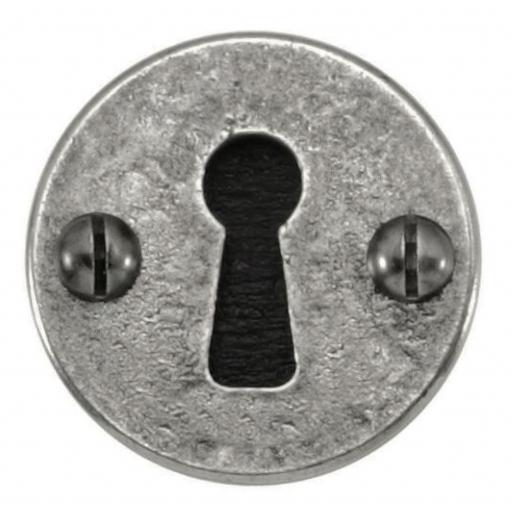 Pewter Keyhole Escutcheon