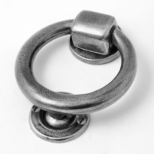 Solid Pewter Door Knocker (Four Piece)