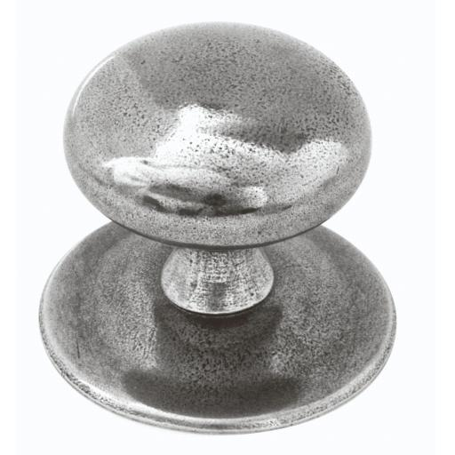 Genuine Pewter Centre Door Knob (Three Piece)