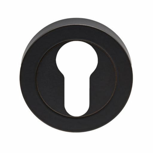 Euro Escutcheon Matt Black