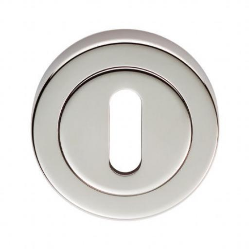 Lock Profile Escutcheon - Polished Nickel