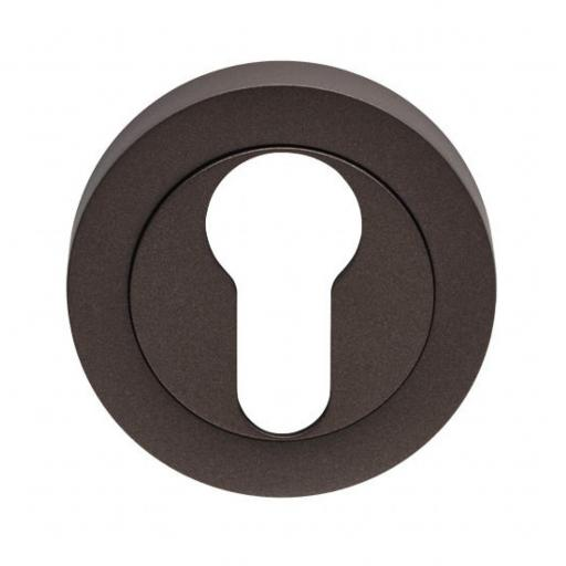 Euro Escutcheon Matt Bronze