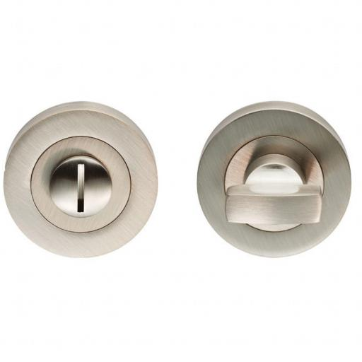 Turn and Release Lock - Satin Nickel